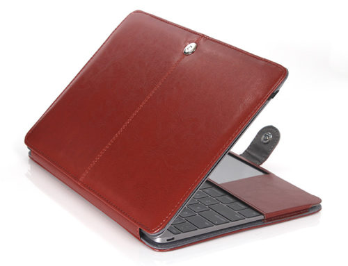 Leather Protective Case for Apple MacBook Air 12""