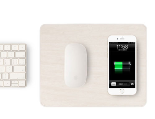 ABS skin mouse pad with charger